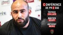 Conférence de presse d'avant-match J20 Lyon-Toulon