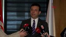 İstanbul İmamoğlu İş Adamlarıyla Bir Araya Geldi Hahambaşı Haleva'yı Ziyaret Etti 2