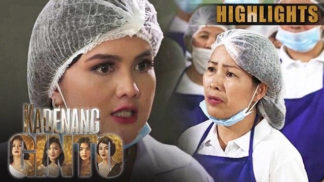 Daniela, tinanggal ang lahat ng empleyado sa factory | Kadenang Ginto