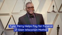 Tyler Perry Shows His Heart To A Grieving Family
