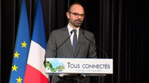 Discours du Premier ministre sur la couverture numérique des territoires