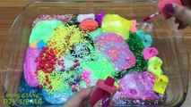 Mixing Random Things into Store Bought Slime ! Relaxing Satisfying Slime ! Slime Mixing