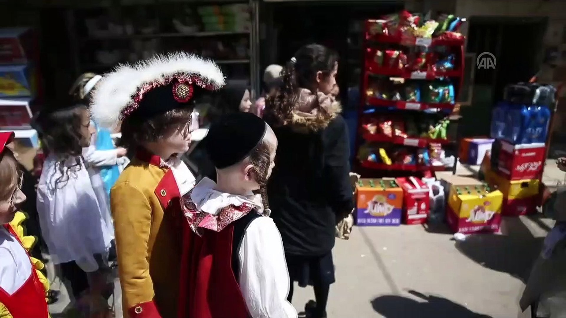 İsrail'de 'Purim Bayramı' kutlanıyor - KUDÜS