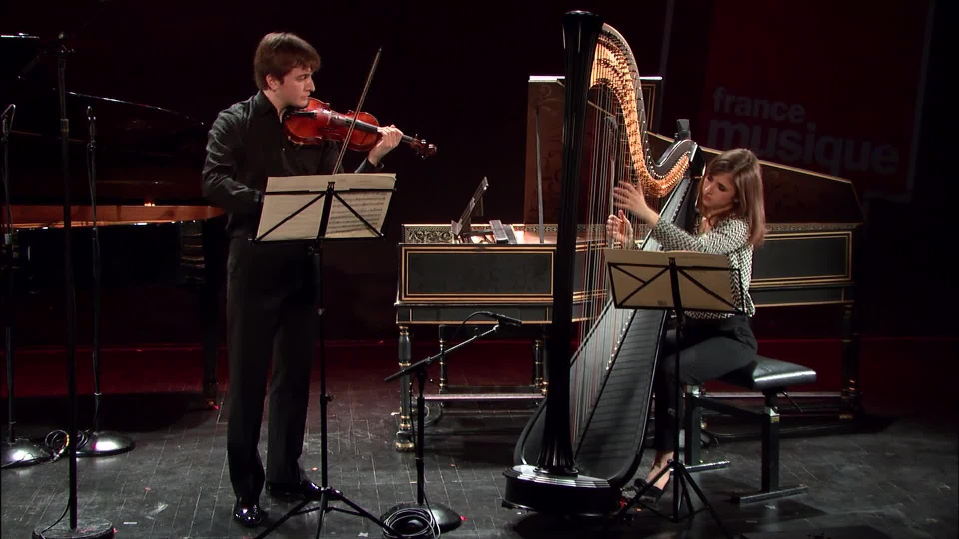 Saint-Saëns : Fantaisie pour violon et harpe