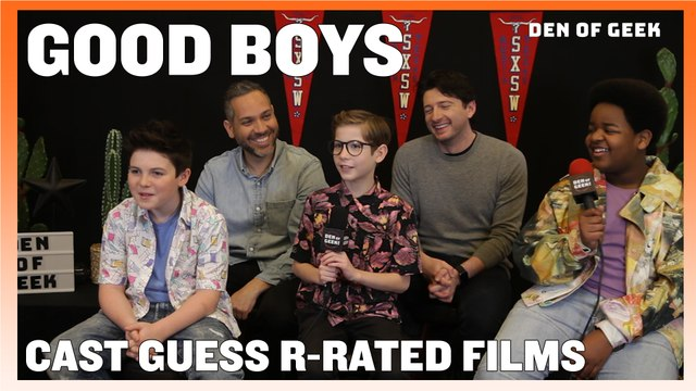 Good Boys: The Cast Discusses R-Rated Films