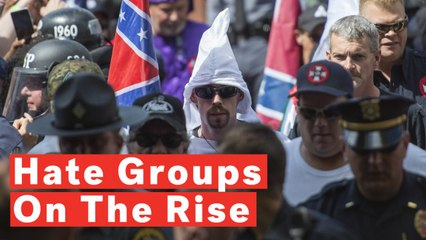 Southern Poverty Law Center: Number Of US Hate Groups Reaches Record High