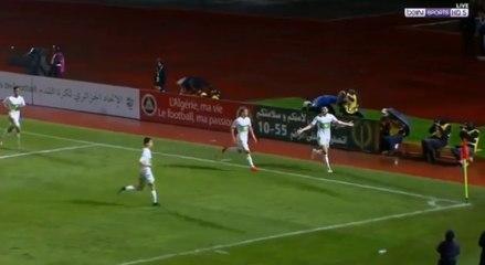 Algérie-Gambie : But de Mehdi Abeid (1-0)