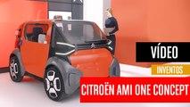[CH] Citroën Ami One, un concepto de movilidad urbana muy innovador