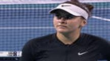 Andreescu bests Kerber for second time