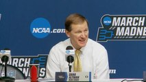 Oregon's Dana Altman talks about beating Wisconsin