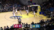 Antonius Cleveland rises up and throws it down
