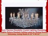 Maria Theresa Chandelier Crystal Lighting Chandeliers Lights Fixture Pendant Ceiling Lamp