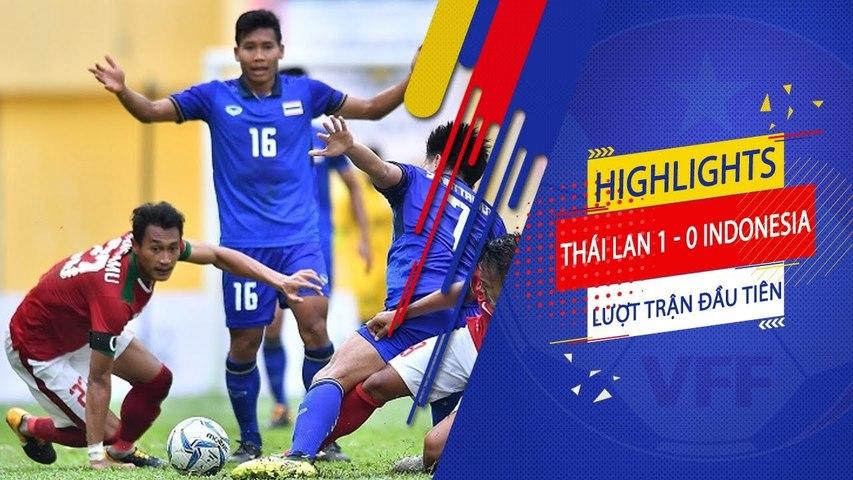 Đồng đội Xuân Trường lập cú đúp, U23 Thái Lan dễ dàng hạ gục U23 Indonesia | VFF Channel