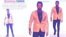 Mohit Raina walks the Ramp at Bombay Fashion Week 2019; Watch video | FilmiBeat