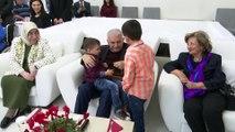 Binali Yıldırım Eşi Semiha Yıldırım ile birlikte Akseki Ormanalı Abdullah ve Nerime Turan Huzurevini ziyaret etti - İSTANBUL