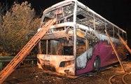 Çin'de Çift Katlı Yolcu Otobüsü Cayır Cayır Yandı: 26 Kişi Can Verdi