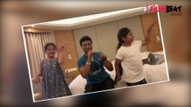 Mahesh Babu's Daughter Sitara Cute Video With Devisri Prasad  | Filmibeat Telugu