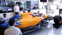 McLaren nos mete 'hasta la cocina' de su box