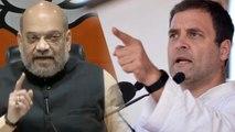 Rahul Gandhi must explain Sam Pitroda's statements: Amit Shah | Oneindia News