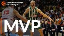 Turkish Airlines EuroLeague Regular Season Round 28 MVP: Nick Calathes, Panathinaikos OPAP Athens