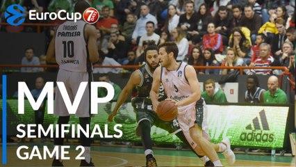 Semifinals, Game 2 MVP: Sam Van Rossom, Valencia Basket