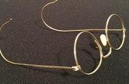 John Lennon's golden Hibo glasses to be auctioned