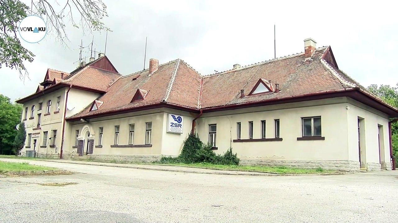 UNIKÁTNY VLAKOVÝ VIDEOPROJEKT: Železničná stanica Vrbovce
