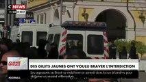 Gilets Jaunes - Regardez en intégralité la charge des CRS à Nice, peu avant midi, qui a provoqué des blessures sur une femme de 71 ans qui a lourdement chuté -
