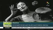 Hace 96 años nació el mimo francés Marcel Marceau