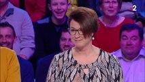 """Nagui taquine une candidate à cause de sa coiffure dans """"Tout le monde veut prendre sa place"""" samedi 22 mars sur France 2"""