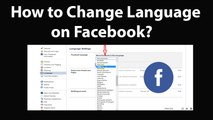 How to Change Language on Facebook on Computer?