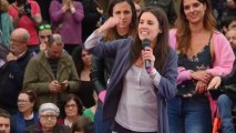 Irene Montero dice que Podemos está cerca de hacer ministro a Pablo Iglesias.