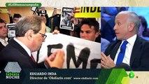 """Eduardo Inda: """"Vox es la derecha, la extrema derecha es Torra"""""""