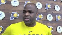 Practice: Evans Playing Strong as Playoffs Near