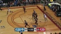 Isaac Humphries Posts 12 points & 12 rebounds vs. Westchester Knicks