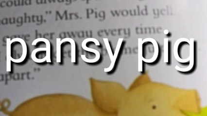 Pansy Pig