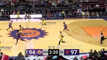Travis Wear (19 points) Highlights vs. Northern Arizona Suns