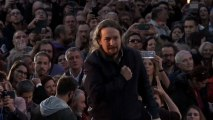 Iglesias vuelve contra todos: contra los banqueros, los medios, Carmena y las encuestas