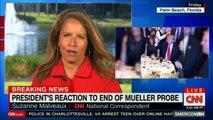 Breaking News: President's reaction to end of Mueller Probe. #MuellerProbe #DonaldTrump #Mueller #Breaking #News