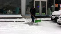 Kar yağışı etkili oldu - KARS