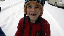 Kar yağışı etkili oldu - ARDAHAN