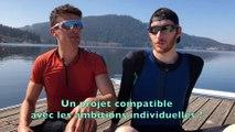 Aviron - Thibault Lecomte et Paul Tixier en duo