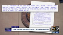 Suicide prevention training moves forward