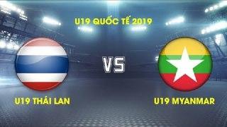 GIẢI U19 QUỐC TẾ VIỆT NAM 2019