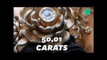Cette montre de luxe est la plus sertie de diamants au monde