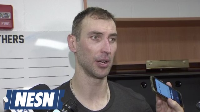 Zdeno Chara On Bruins Clinching Berth To Stanley Cup Playoffs