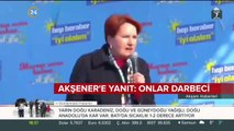 Bakan Gül'den Akşener'e yanıt: Onlar Mehmetçik değil, onlar darbeci