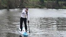 Paddle. 105 km entre Saint-Malo et Cesson-Sévigné