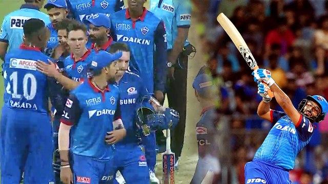 IPL 2019, MI vs DC: Delhi Capitals beat Mumbai Indians by 37 runs | वनइंडिया हिंदी