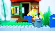 LEGO Ninja School STOP MOTION Back To School   LEGO Ninjago   By LEGO Worlds